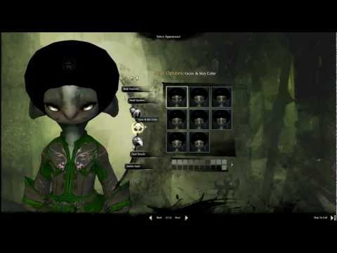Asura Necromancer Character Creation - Guild Wars 2 Beta