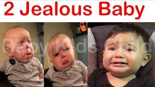 Baby Funny Video 2018 - American Baby Videos - Jealous Baby when Mommy holds siblings , Kids Fun