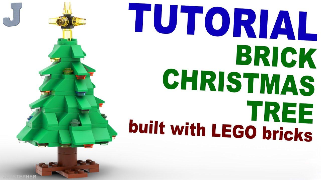 Tutorial Lego Christmas Tree Cc Youtube