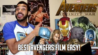 Best AVENGERS MOVIE?! Infinity War Honest Thoughts
