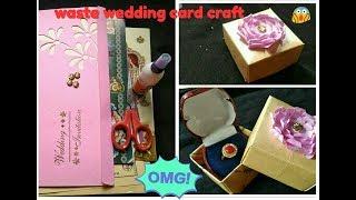 Diy beautiful gift box.with wedding cards.wedding card crafts
