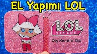 EV YAPIMI LOL BEBEK AÇIYORUM - Opening Homemade LOL Surprise