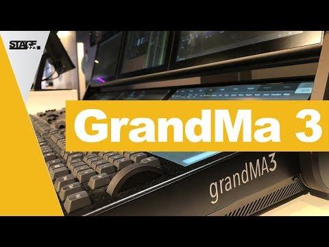 GrandMa 3 - Vorstellung der neuen Lichtkonsole   Prolight + Sound 2018