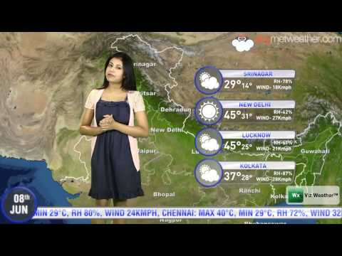 08/06/2014 - Skymet Weather Report for India