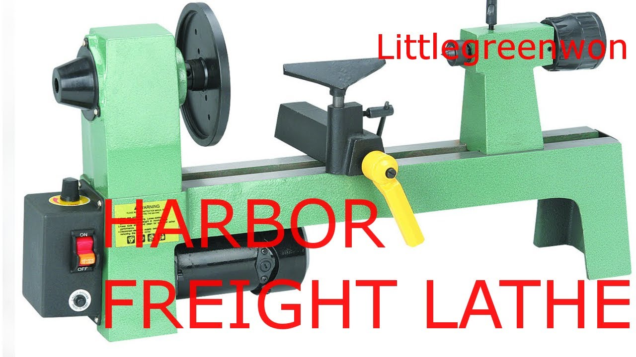 harbor freight mini wood lathe