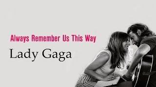 Baixar Always Remember Us This Way (traduzione Italiano)