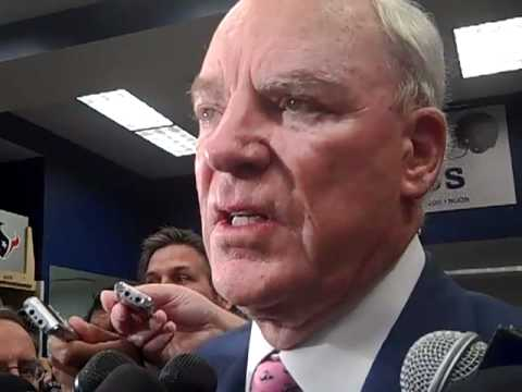 Texans owner Bob McNair after win vs Steelers