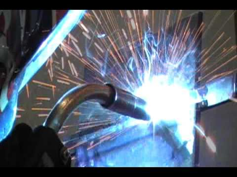 how to weld a 2g mig bend test plate part 1