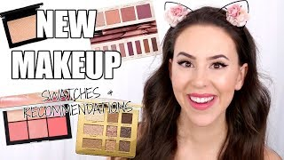 NEW MAKEUP 2018 || REVIEWS, SWATCHES & RECOMMENDATIONS