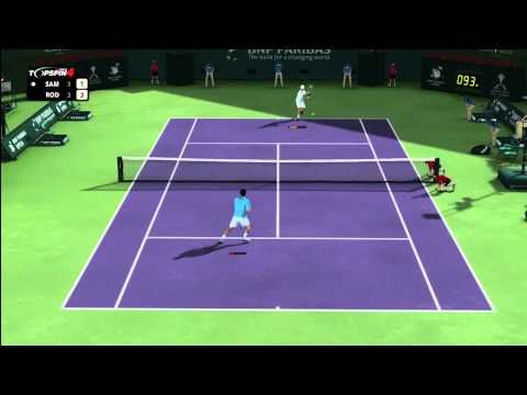 Top Spin 4 - Pete Sampras vs. Andy Roddick
