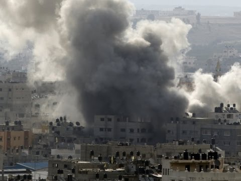 Raw: Gaza Ceasefire Fades, Airstrikes Resume