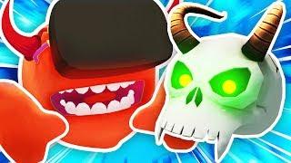 DEMON SKULL + MEESEEKS CREATES DEVIL MEESEEKS? (Rick and Morty: Virtual Rick-ality Funny Gameplay)