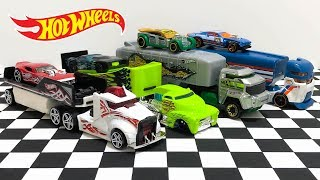 New Hot Wheels Semi Truck Trailer Haulers Unboxing!