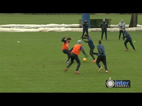 ALLENAMENTO INTER REAL AUDIO 14 01 2014