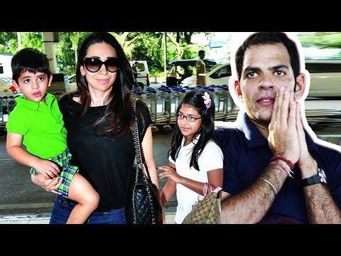 Karishma Kapoor & Sanjay Kapur FIGHT for KIDS CUSTODY