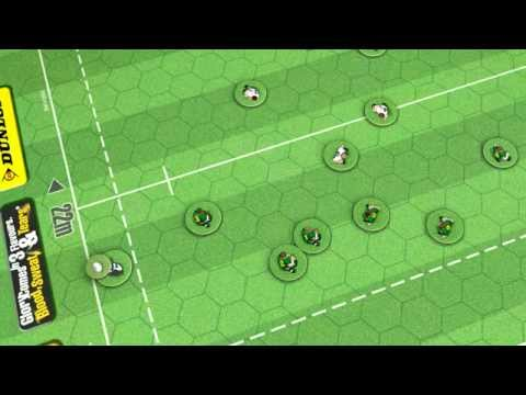 Passing the ball in Crash Tackle - The International Rugby Board Game