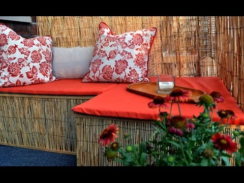 How to decorate a small balcony - Ep 4