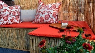 How to decorate a small balcony