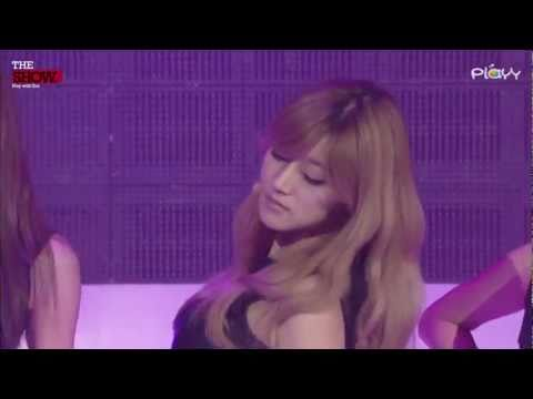 (Seung A Ver.) Rainbow - To Me (110429) @ MTV The Show