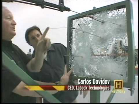 Million Dollars In A Bullet Proof Glass