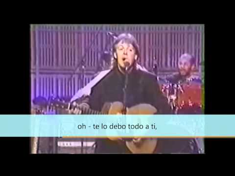 Paul McCartney - I Owe It All To You
