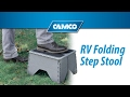 RV Folding Step Stool