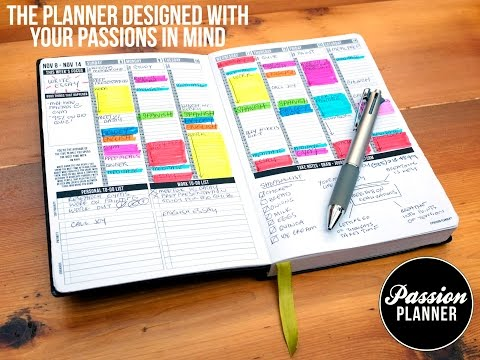 Passion Planner by Angelia Trinidad (Kickstarter Video 2014)