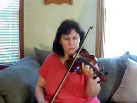 devils Dream on the violin