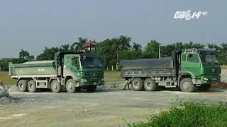 (VTC14)_Hà Nam: Nguy cơ xe tải phá đường tránh
