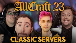 ALLCRAFT #23 - CLASSIC SERVERS & NEW WOW EXPANSION ft. Asmongold,Sodapoppin, Hotted & Rich