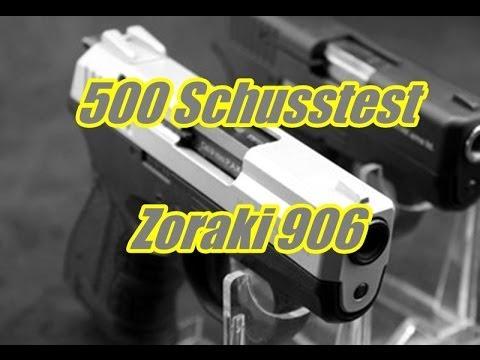 500 Schusstest mit der Zoraki 906