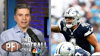 Can Eagles jump Cowboys for NFC East title? | Pro Football Talk | NBC Sports