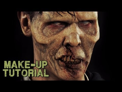 Zombie Prosthetics & Makeup Kit How To Video - World War Z Style Trailer