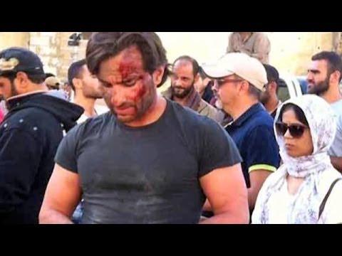Saif Ali Khan & Katrina Kaif starrer Phantom movie got 2 junior artists injured during the shoot