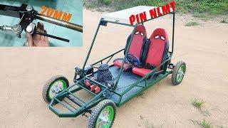 Nâng Cấp Xe CycleKart với Trục 20mm, NLMT, Phanh Dầu