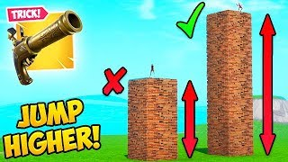 *NEW TRICK* JUMP HIGHER WITH A FLINT KNOCK!! – Fortnite Fails and WTF Moments! #615