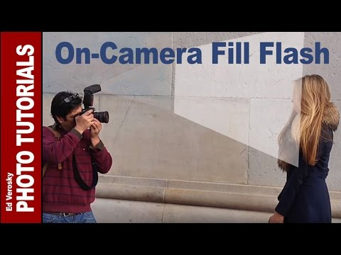 On-Camera Fill Flash Basics