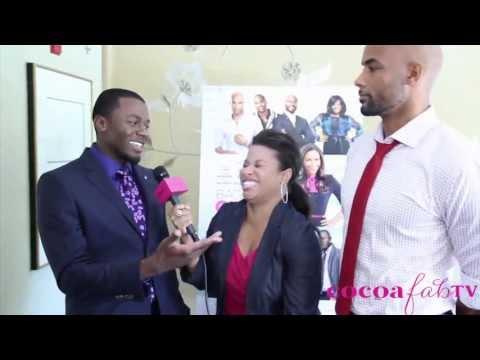 Boris Kodjoe & Derek Luke Argue Women Gaining Weight & Baggage Claim video