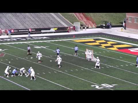 2013 Johns Hopkins beats #1 Maryland:  Complete Game Lacrosse Highlights