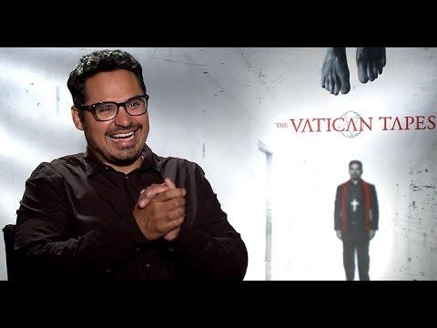 Michael Peña Talks THE VATICAN TAPES, evil forces, classic films