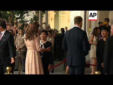 Prince William and Duchess of Cambridge visit Singapore