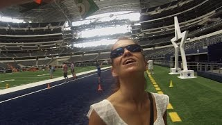 We Visit AT&T Stadium, Home Of The Dallas Cowboys