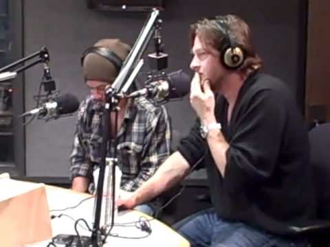 """Donal Logue & Michael Raymond James from FX's Terriers on Boston's KISS 108FM's """"Matty Show"""""""
