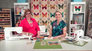 How to Make a Butterfly Quilt by Edyta Sitar