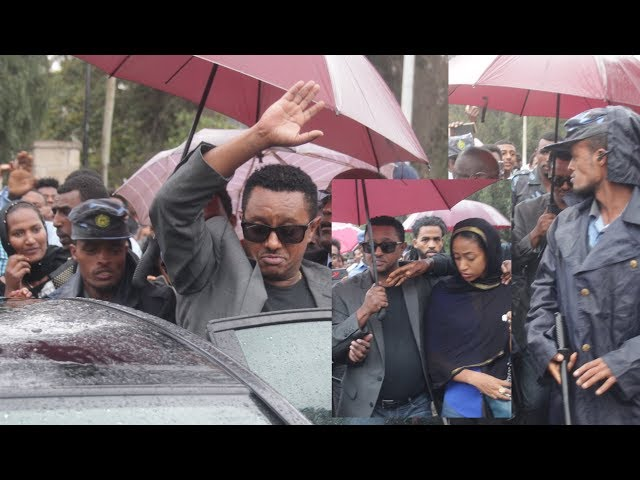 Artist Teddy Afro On Tamrat Desta's Funeral