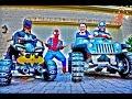 Little Superhero Kids 7 & 8 - Super Squad Spider Con Mission