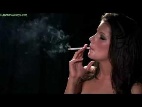 Hot Girl Smoking EVE 120