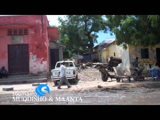 Maka Al Mukarama Street Mogadishu, Somalia (Oct. 15, 2011)
