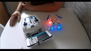 Revell X Spy Mini Fpv Wifi Quadrocopter // Unboxing Review Test Flight // Sj4000 // Nano Fpv //