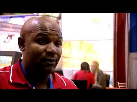 Titus Cheune, Manager Marketing & Communications, Nelson Mandela Bay Tourism @ INDABA 2010